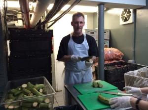 Travis chopping food 2